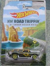 Hot Wheels 2015 ROAD TRIPPIN 12 CLASSIC chevy NOMAD green