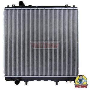 Radiator Hyundai Terracan HP 2.9L 4Cyl Turbo Diesel 7/01-10/06 Manual & Auto Tra