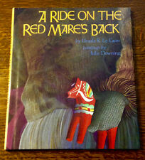 Rare SIGNED Ursula Le Guin A RIDE ON THE RED MARE'S BACK 1992 1st/1st Printing