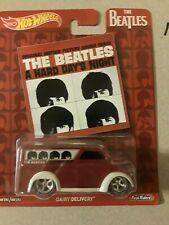 HOT WHEELS THE BEATLES DAIRY DELIVERY new A Hard Day's Night