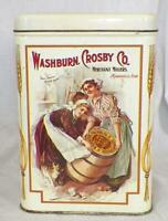 Vintage Tin Washburn Crosby Co. Flour Gold Medal Colorful 1970s Era