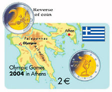 2004 Greece Olympic 2 Euro Commomerative Coin