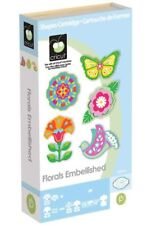 Cricut Cartridge FLORALS EMBELLISHED Factory Sealed FREE SHIP Brand New