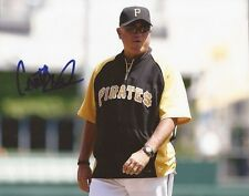 Clint Hurdle signed Pittsburgh Pirates 8x10 photo autographed