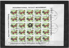 GUYANA  1989 ROTARY INTERNATIONAL - SCOUT MOVEMENT / LION INTERNA.../  PAPILLON