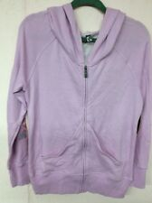 Womens Zip Up Hooded Jacket By Fox- Lavender- Retail $59.50 Size Medium
