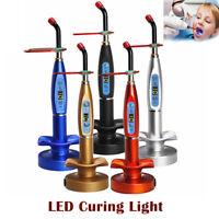 2000MW Dental Wireless LED Curing Light Polymerisationslampe LED 5W EU Plug