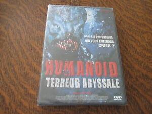 dvd humanoid terreur abyssale un film de jeff yonis