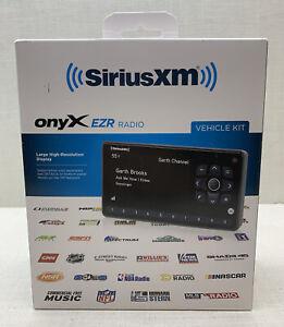 SiriusXM - Onyx EZR Satellite Radio Receiver With Vehicle Kit—Black New & Sealed