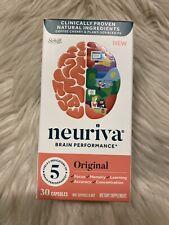 NEURIVA Original Brain Performance 30 Capsules EXP: 2/2021