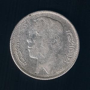 Morocco - 5 Dirhams - 1965