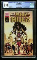 SHE HULK #22 (2007) CGC 9.8 SAVAGE SHE-HULK HOMAGE #1 ZOMBIE VARIANT NM/MT