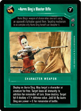 Aurra Sing's Blaster Rifle [played] REFLECTIONS III star wars ccg swccg
