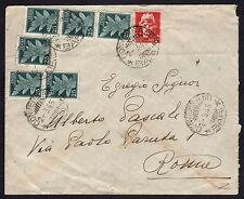 STORIA POSTALE LUOGOTENENZA 1945 Lettera da Conversano a Bari (FGX)