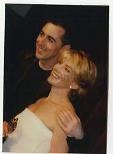 Natasha Richardson & Alan Cumming - Vintage Candid Photograph by Peter Warrack
