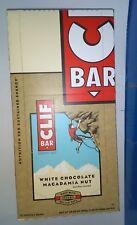 Clif Bar White Chocolate Macadamia Nut 12-2.4 Oz Energy Bars 28.80 Oz