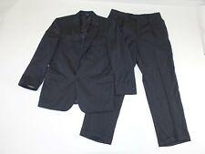 Jos. A. Bank Men's 2 Button Suit Size 42 Regular 36 x 31 Charcoal Gray Wool 42R