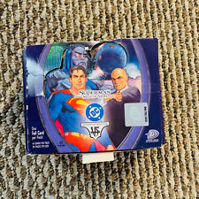 "2005 VS System TCG DC ""Superman Man of Steel"" Booster Box Open"
