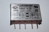SCHAFFNER FN406-6/02 250VAC 6A THT Line Filter New Quantity-1