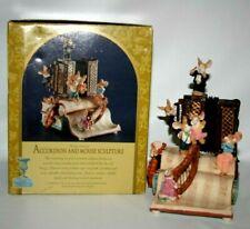 Musical Animated Accordion & Mouse Sculpture Mice Classic Treasures Nib