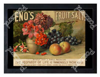 Historic Eno's Fruit Salt, London, c.1880-1900 Advertising Postcard