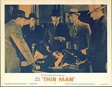 THE THIN MAN original lobby card WILLIAM POWELL/NATE PENDLETON 11x14 MoviePoster