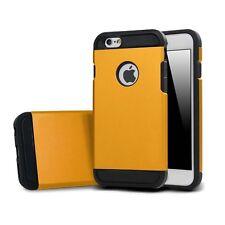 iPhone 6s/6 CASE HÜLLE BUMPER COVER FARBE Orange LUXSUS TASCHE SCHUTZ  TOP