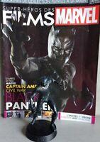 MARVEL MOVIE COLLECTION #28 Black Panther Figurine (Captain America Civil War)fr