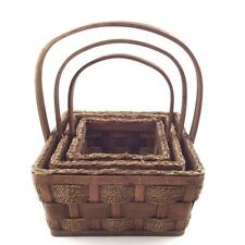 Rattan Decorative Baskets with Handle