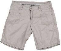 "Helly Hansen Mens Bermuda Casual Cargo Chino Shorts Size Large Grey 10"" Inseam"