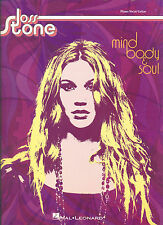 "JOSS STONE ""MIND,BODY & SOUL"" PIANO/VOCAL/GUITAR MUSIC BOOK BRAND NEW ON SALE!!"