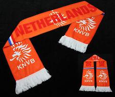 "Orange Holland ""Netherlands"" F.C. Soccer Fleece Scarf"