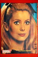CATHERINE DENEUVE ON BACK COVER 1966 RARE EXYU MAGAZINE
