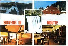 CP 25 DOUBS - Souvenir de Mouthe - Multivues couleurs - Auberge de la Source