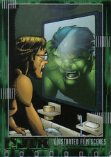 THE INCREDIBLE HULK THE MOVIE ILLUSTRATED CARD IF03