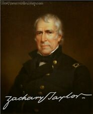 PP Signed LtdEd 10x8 Lab Print - USA President 12 - Zachary Taylor