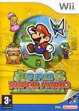 SUPER PAPER MARIO GIOCO x  Wii NUOVO VERSIONE ITALIANA