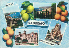 SANREMO - SALUTI - 4 VEDUTINE - V 1966