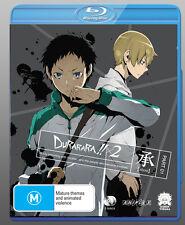 Durarara X2:Shou Part 1 Ep 1-12 - 2Bluray R4 Anime