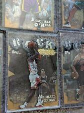 SET (20) 1997-98 Topps ROCK STARS Die-Cut MICHAELJORDAN Shaquille Pippen Rodman