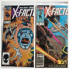 X-Factor #6 n #3 Marvel Comic Book Lot First Apocalypse Key Issue Comic Xmen
