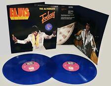 "Elvis THE ALTERNATE ""TODAY"" 2 LP HEPCAT LP 002 BLUE & BLACK VINYL IN STOCK"