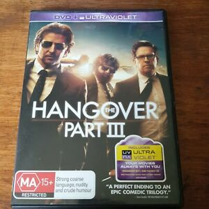 Hangover Part 3 DVD R4 VERY GOOD - FREE POST