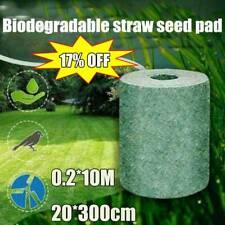 Biodegradable Grass Seed Mat Fertilizer Garden Picnic 0.2*10M Sizes