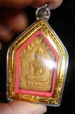 LP TIM PHRA KHUN PAEN ROOP TAI BUDDHA AMULET FROM THAILAND WATERPROOF CASE