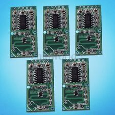 5Pcs RCWL-0516 Microwave Radar Sensor Switch Modul Body Induction Detect 4-28V