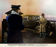 Humphrey Bogart, Conrad Veidt - Casablanca (1942) - Metek09-Art. - 8 1/2 X 11