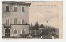 CARTOLINA 1919 S. VITO ROMANO VILLA BOCCELLI SUL BORGO MARIO RIF 9573