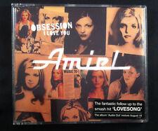 Amiel - Obsession (I Love You) - CD Single - Australia - 4 Tracks