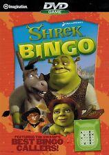 Shrek Bingo Dvd Game, Markers & Sheets Included, 2006 + Bonus Princess Dvd Game